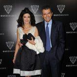 Ilaria y Ferruccio Ferragamo en la inauguración del Museo Gucci en Florencia