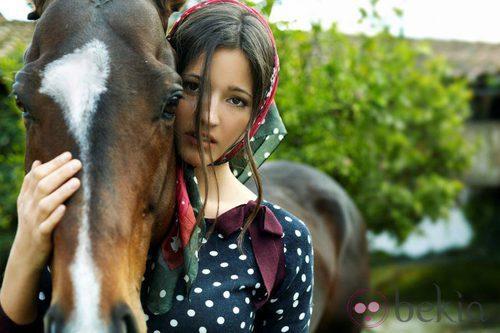 Malena Costa, imagen de la colección otoño/invierno 2011 de Indiwoman by Individual