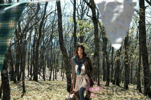 Malena Costa con la colección otoño/invierno de Indiwoman by Individual