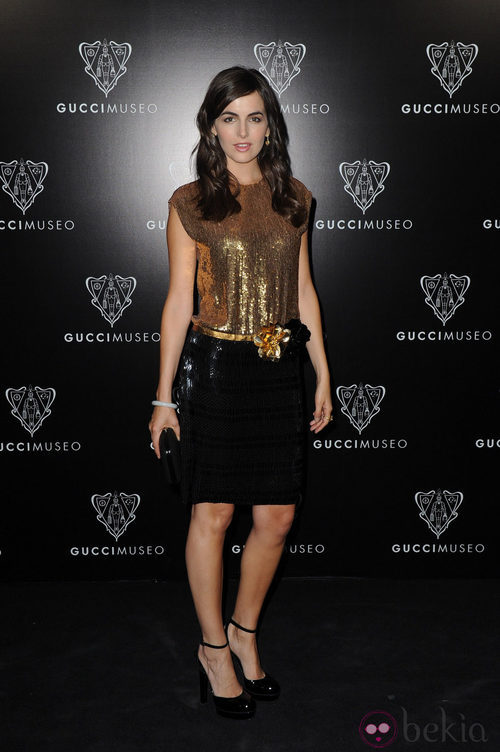 Camila Belle en la inauguración del Museo Gucci en Florencia