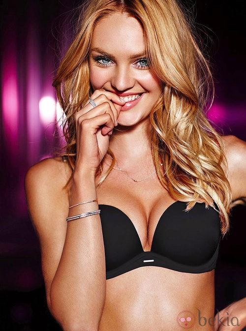 Candice Swanepoel, push up para la colección de lencería otoño 2011 de Victoria´s Secret