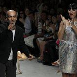 Rossy de Palma, invitada al desfile de Manish Arora en París