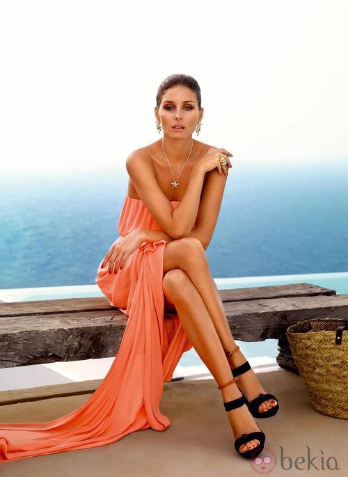 Olivia Palermo con joyas de oro de la colección Atenea de 'Carrera y Carrera'