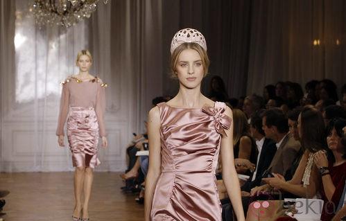 Nina Ricci presenta su colección primavera/verano 2012 en París