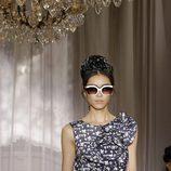 Vestido estampado de la colección primavera/verano de Nina Ricci en París