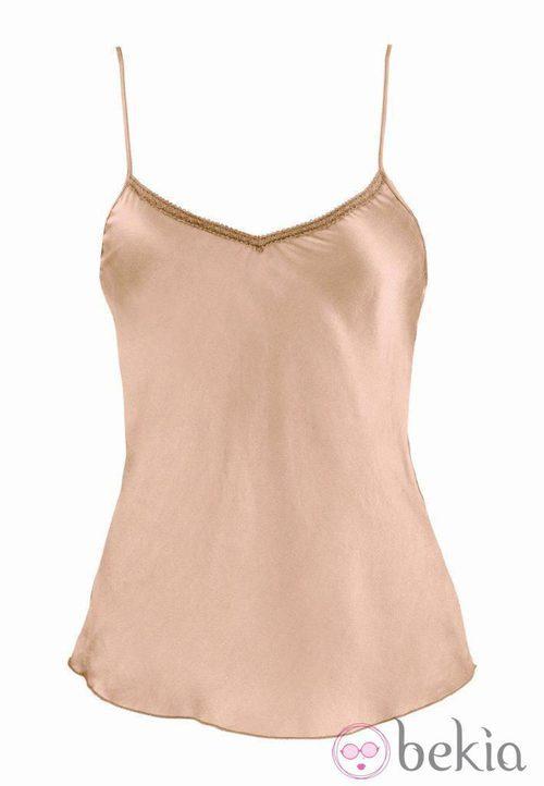 Camiseta interior rosa de la colección Goldenpoint otoño 2011