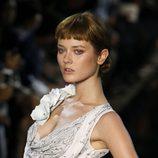 Vestido de seda blanca de John Galliano, colección primavera 2012