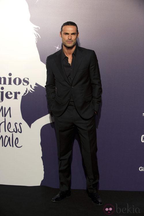 El actor Iván Sánchez, en la Gala Cosmopolitan Fun Fearless Female 2011