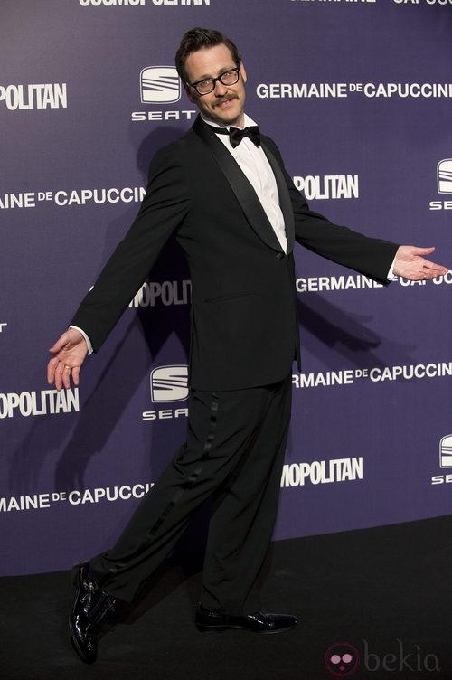 El actor Joaquín Reyes, en la Gala Cosmopolitan Fun Fearless Female 2011