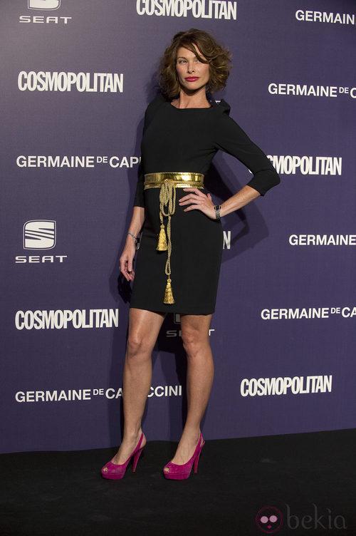 Estilismo de Cristina Piaget en los Premios Cosmopolitan Fun Fearless Female 2011