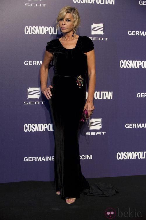 Estilismo de Bibiana Fernández en los Premios Cosmopolitan Fun Fearless Female 2011