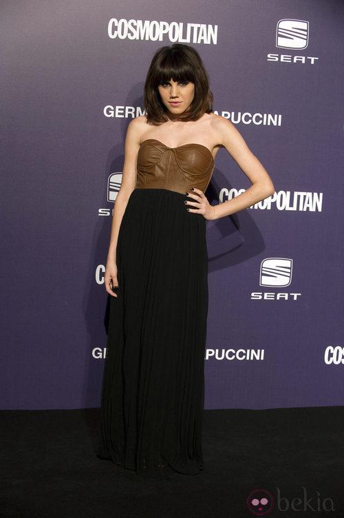 Estilismo de Angy Fernández en los Premios Cosmopolitan Fun Fearless Female 2011
