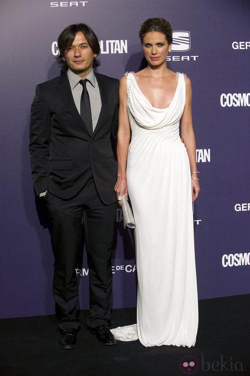 Estilismo de Alberto Caballero y Vanesa Romero en los Premios Cosmopolitan Fun Fearless Female 2011