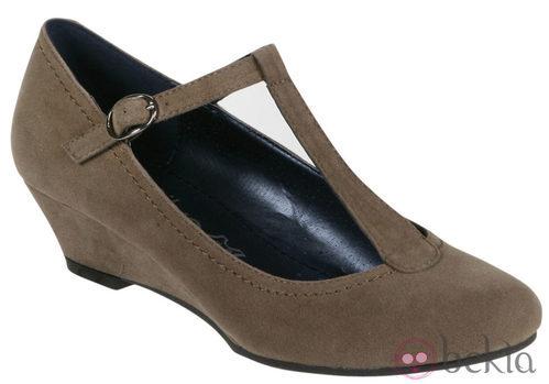 Zapatos de ante de la colección otoño/invierno 2011/2012 de Alex Silva