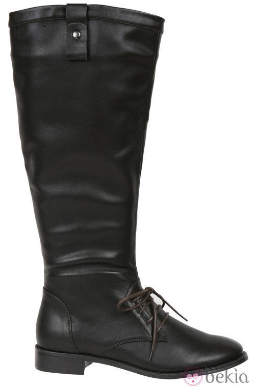 Botas altas en color chocolate de la colección otoño/invierno 2011/2012 de Alex Silva