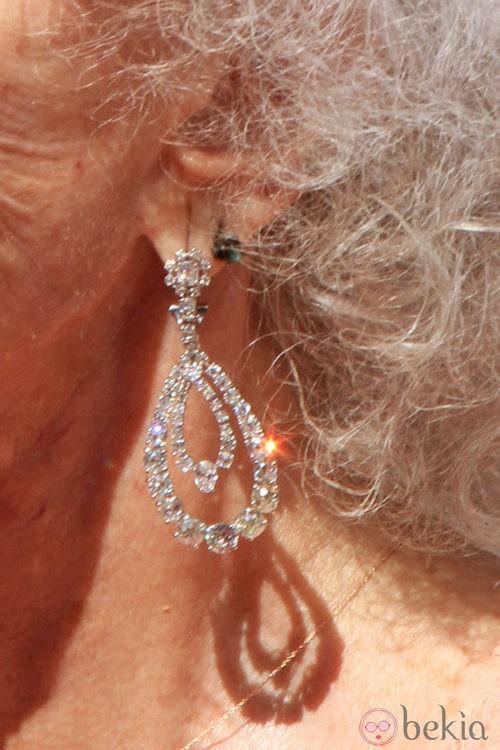 Looks Boda Duquesa de Alba: Pendientes de Cayetana de Alba