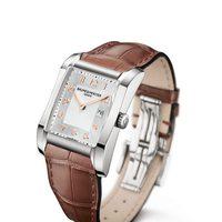 Reloj con correa de cuero de la colección Hampton de la firma Baume & Mercier
