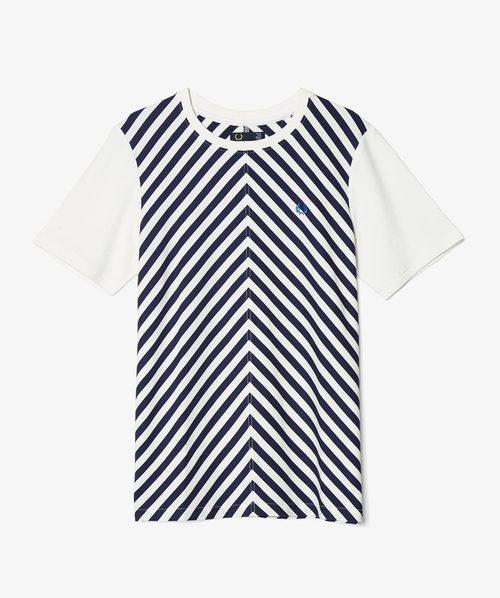 Camiseta de rayas de la nueva colección Authentic de Fred Perry