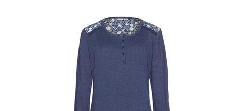 Deep blue camison de la colección otoño/invierno de pijamas de Yamamay