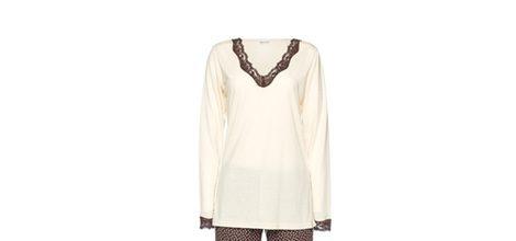 Wild-dots pijama largo de la colección otoño/invierno de pijamas de Yamamay