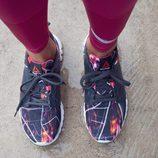 Nuevo modelo de zapatilla deportiva Urban Fitness de Reebok y Bershka