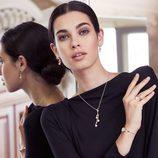 La modelo Laura Sánchez imagen de la nueva colección otoño/invierno 2015/2016 de Morellatto