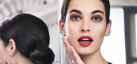La modelo Laura Sánchez en la nueva colección otoño/invierno 2015/2016 de Morellatto