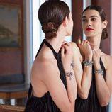 La modelo Laura Sánchez posando para la nueva colección otoño/invierno 2015/2016 de Morellatto