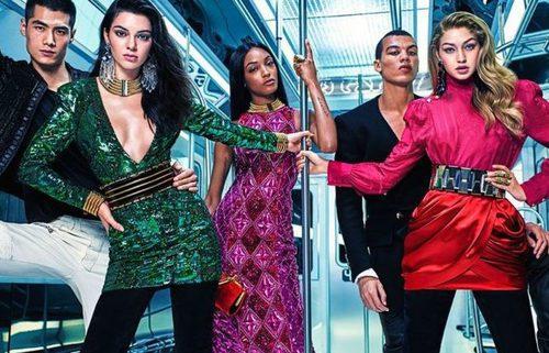 Imagen de la campaña de Balmain para H&M