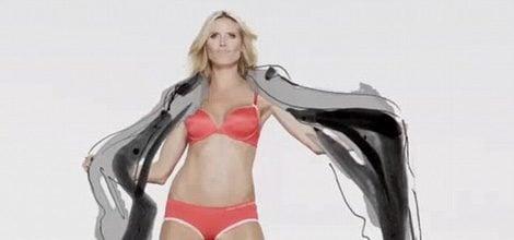 Heidi Klum como imagen de nueva campaña de Macy's