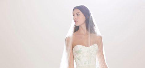 Vestido de novia con corsé de Carolina Herrera 2016