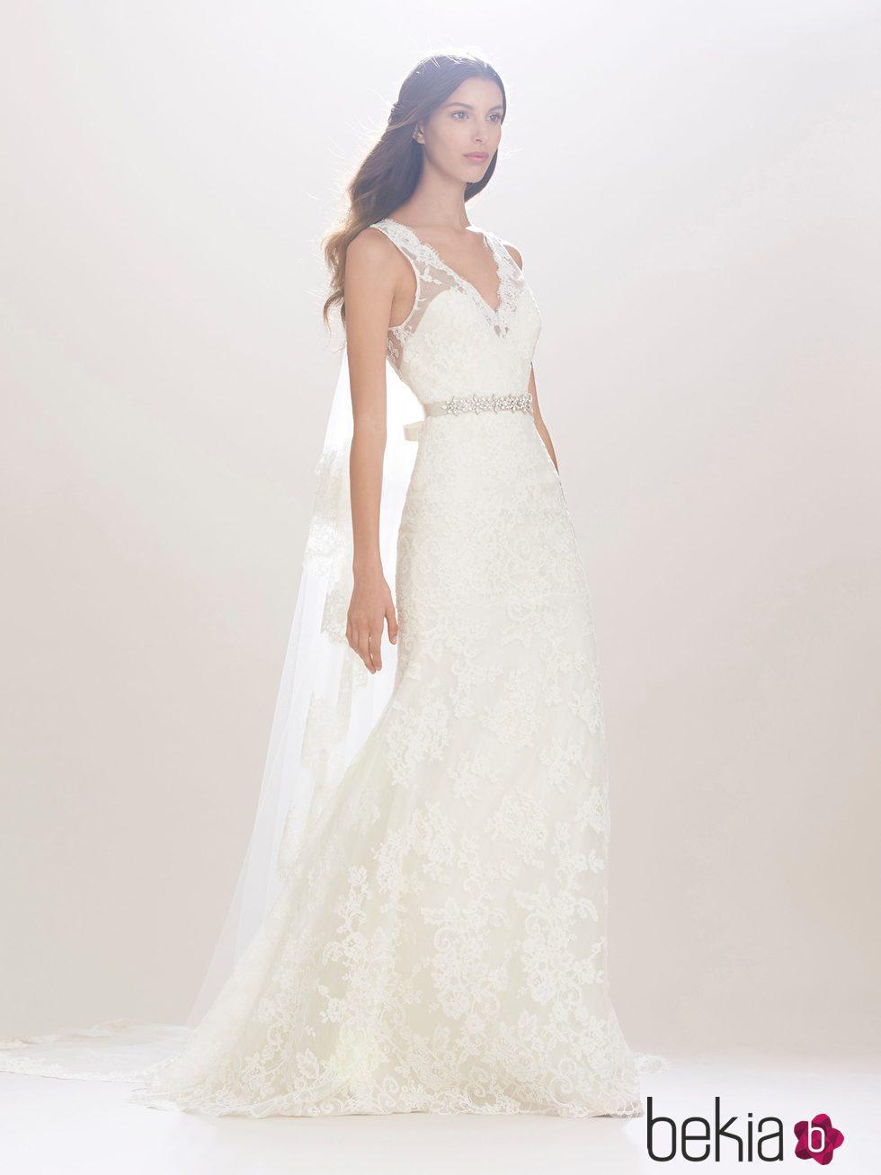 Vestidos de novia de encaje chantilly