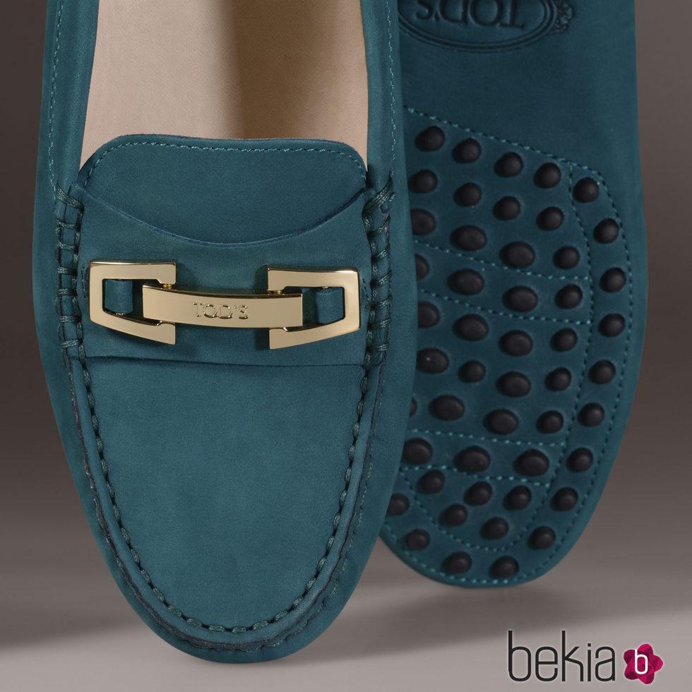 0a2ccd2a4bc Anterior Zapato Gommino verde de la nueva colección para mujer otoño invierno  2015 2016 de