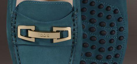 Zapato Gommino verde de la nueva colección para mujer otoño/invierno 2015/2016 de Tod's