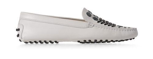 Zapato Gommino blanco de la nueva colección para mujer otoño/invierno 2015/2016 de Tod's