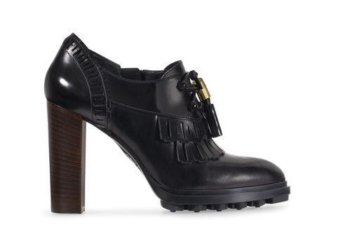 Zapato de tacón negro de la nueva colección para mujer otoño/invierno 2015/2016 de Tod's