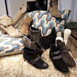 Diversos pares de botas de la colección otoño/invierno 2015/2016 de calzado de Alma en Pena