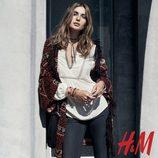 Chaqueta de punto y camisa blanco crudo de la colección otoño/invierno 2015/2016 de H&M