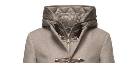 Abrigo beige largo de la colección otoño/invierno 2015 de la firma Fay