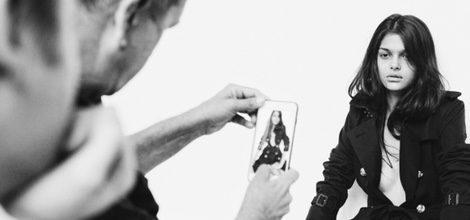 Lanzamiento de la colección primavera/verano 2016 de Burberry en Snapchat