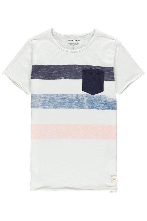 Camiseta de rayas de hombre de la colección otoño/invierno 2015/2016 de Salsa