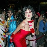 Heidi Klum disfrazada de Betty Boop en su fiesta de Halloween 2002