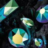 Cristales de Swarovski en tonos verdes de la colección de Jean Paul Gaultier para el otoño/invierno 2016/2017