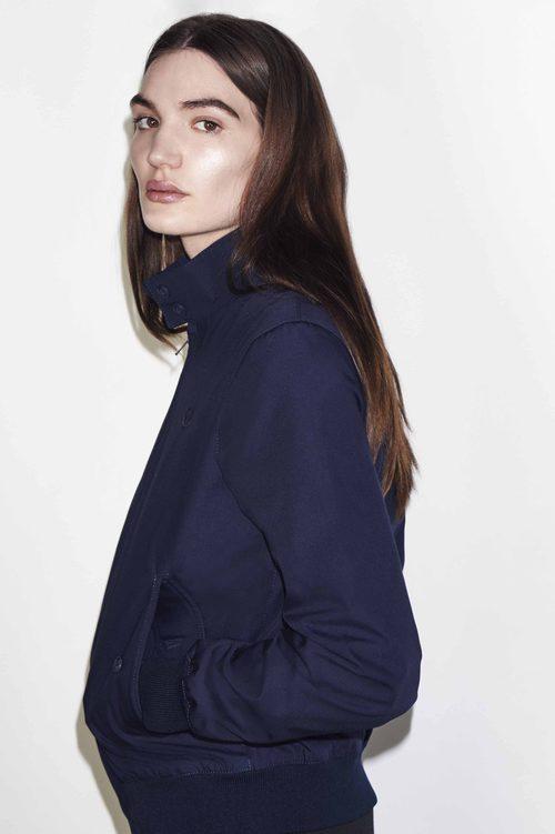 Abrigo azul marino de la colección Reissues otoño/invierno 2015/2016 de Fred Perry