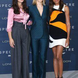 Los looks de Lea Seydoux, Monica Bellucci y Naomie Harris en los estrenos de 'Spectre'