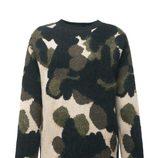 Jersey de estampado militar de la colección de Fay para el otoño/invierno 2015/2016