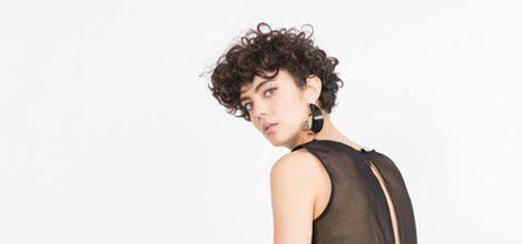 Jumpsuit negro de la colección de Zara Evening