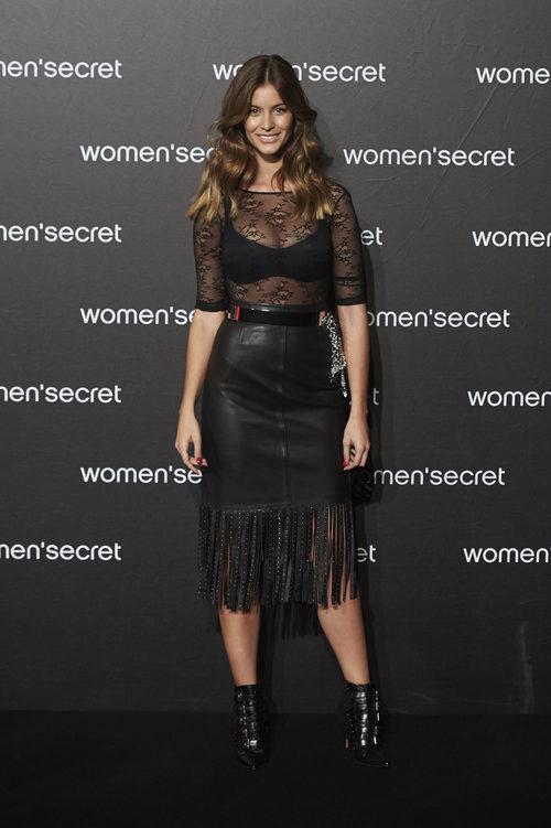 Desiré Cordero presentando la colección 'Limited Edition' de Women'secret