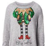 Jersey gris Elfie Selfie de la colección Navidad 2015 de la firma H&M