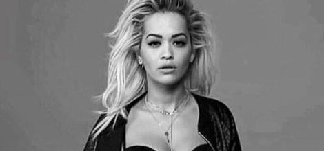 Rita Ora posando para la nueva campaña de colección de ropa íntima de Tezenis para el otoño 2015
